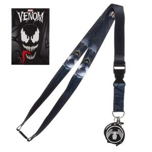VENOM Lanyard / ID Badge Holder Keychain Marvel